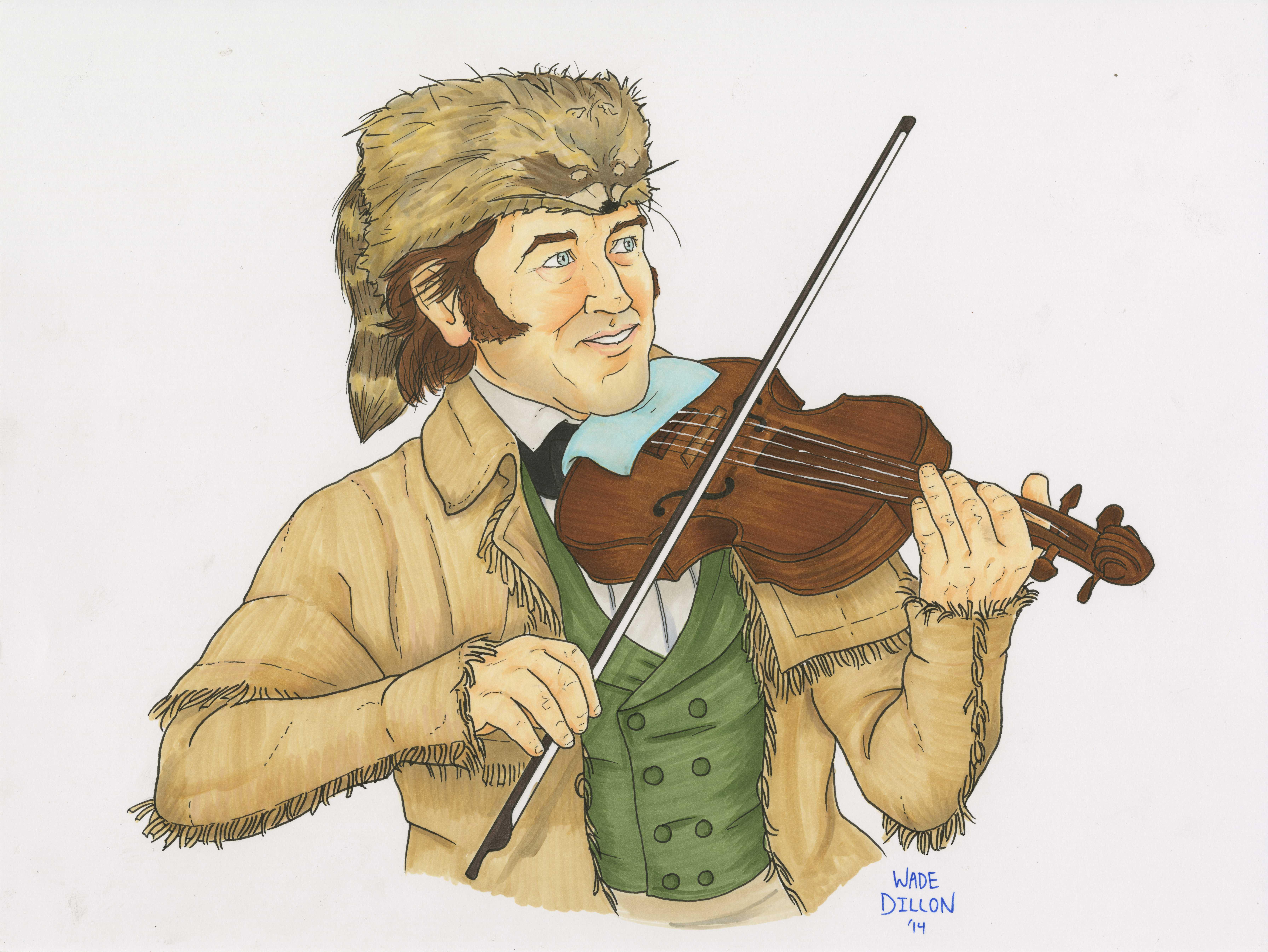 Crockett the Fiddler