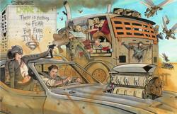Batman - Mad Max: Road to Justice