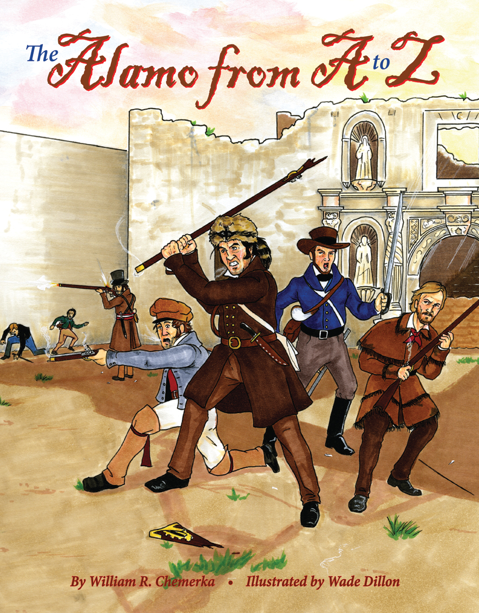 The Alamo From A to Z - Book