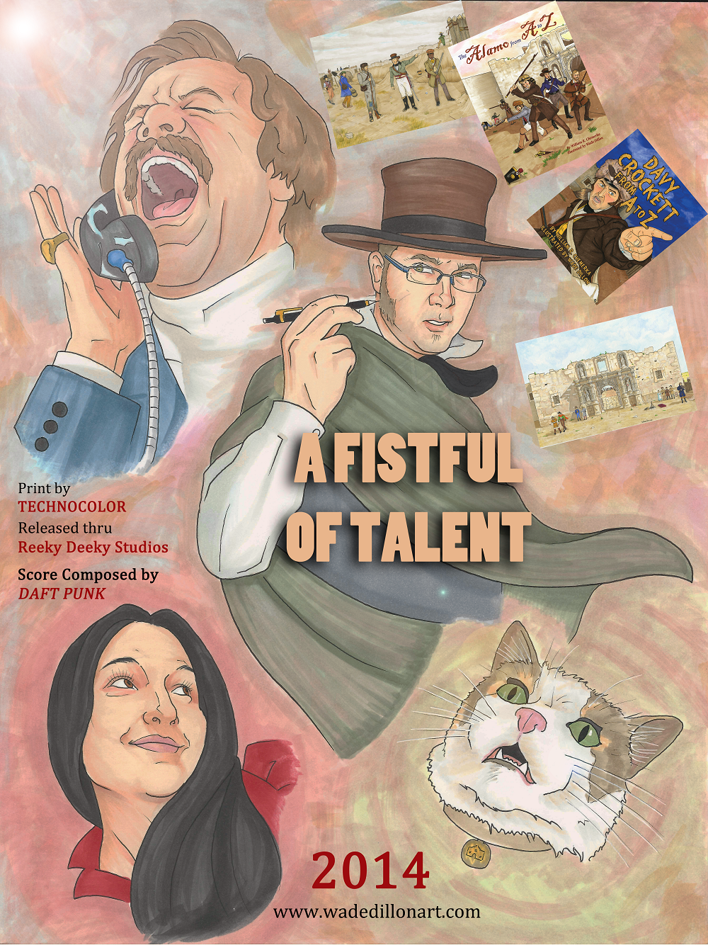 A Fistful of Talent-A Parody