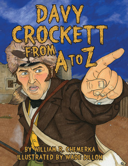 Davy Crockett From A to Z - Book