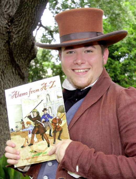 Wade presents Alamo history