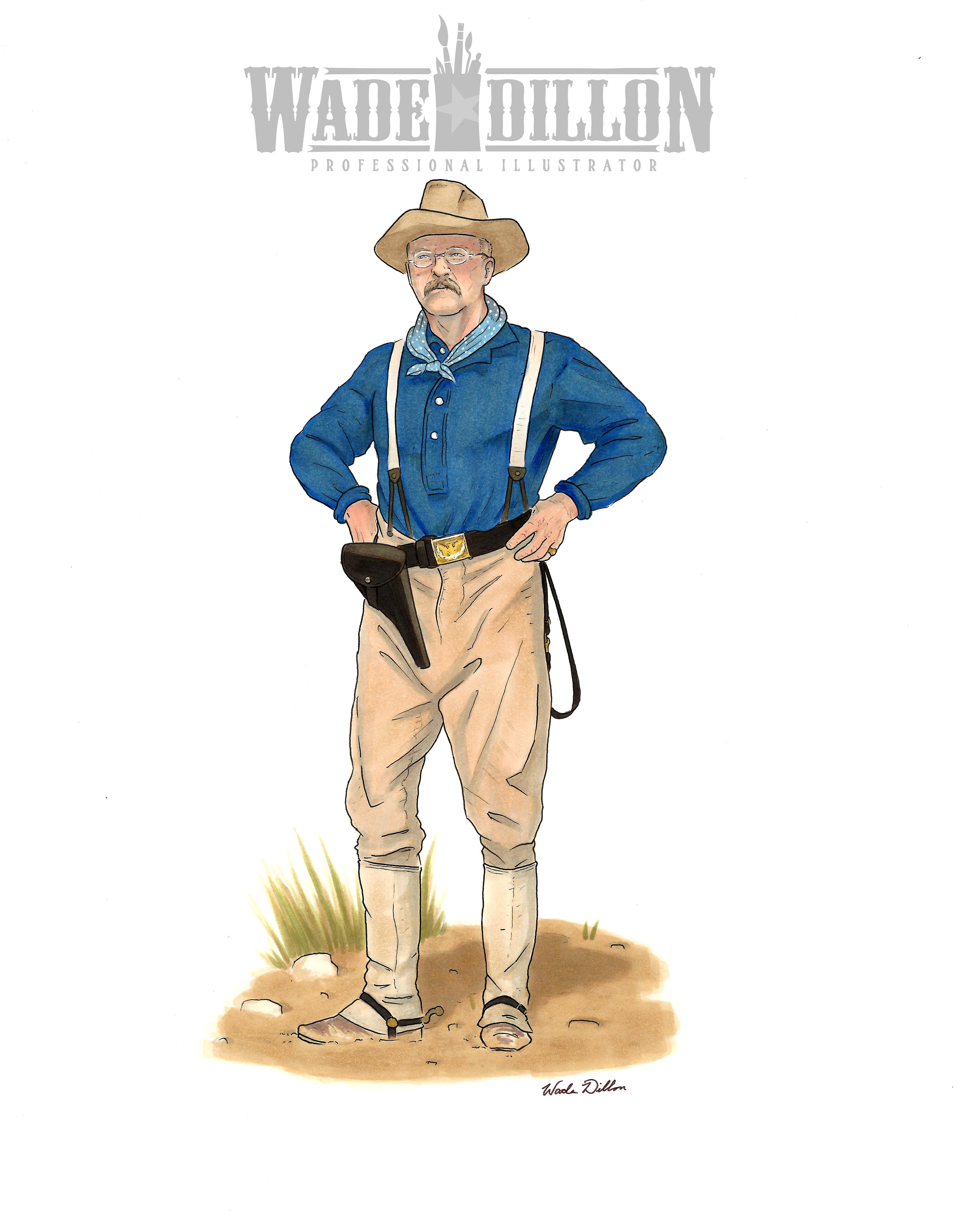 Roosevelt at Kettle Hill