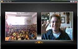 Class Chat via ooVoo