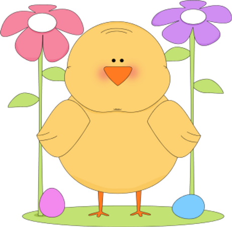 Chick with flowers.png