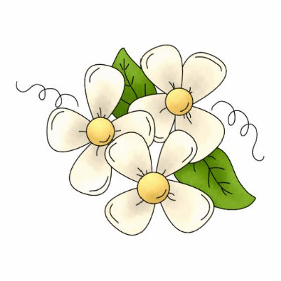 sweet_spring_flower_blossom_cartoon_clip