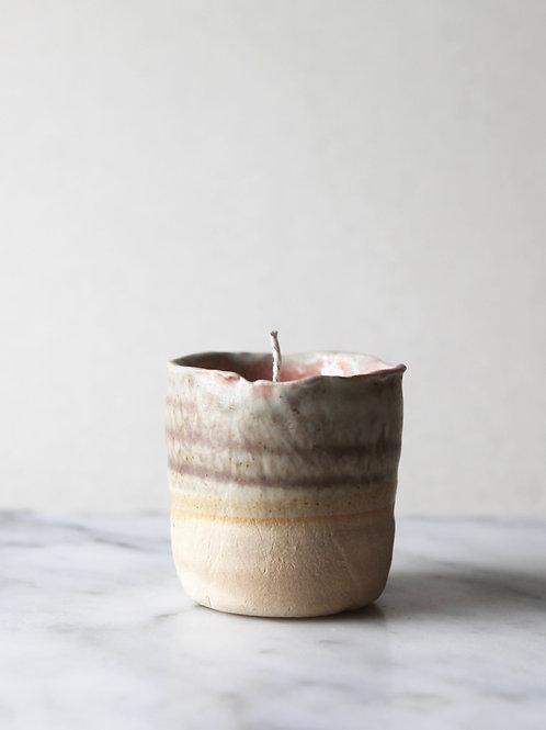 JLA & DIRT pink candle