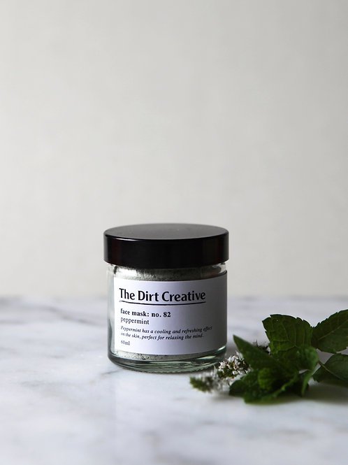 face mask: no.82 / peppermint