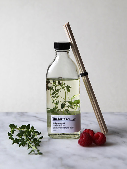 diffuser: no.62 / raspberry, thyme