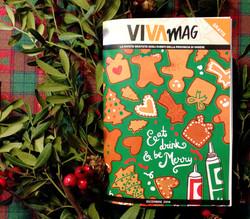 VivaMag / xmas cover 2014