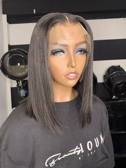 Chic Bob Lace Front Wig