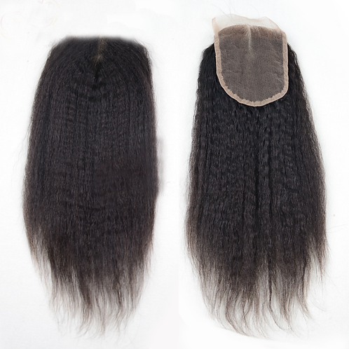 Luxe Kinky Striaght Closure