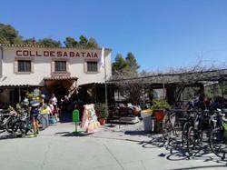 17-Mar-19 Cafe Stop at Coll De Sabataia.