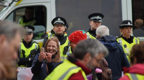 Extinction Rebellion Protest -Edinburgh 16/04/2019