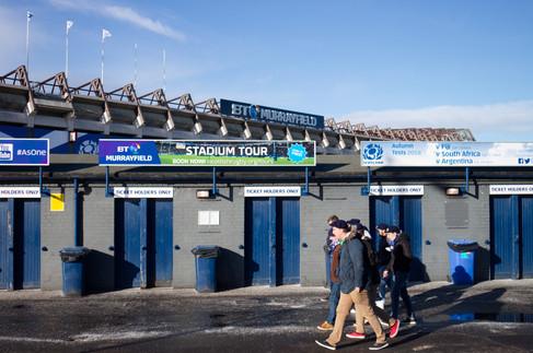 RBS 6 Nations Tournament Game 2018 in Edinburgh
