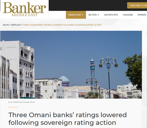 Banker Middle East article