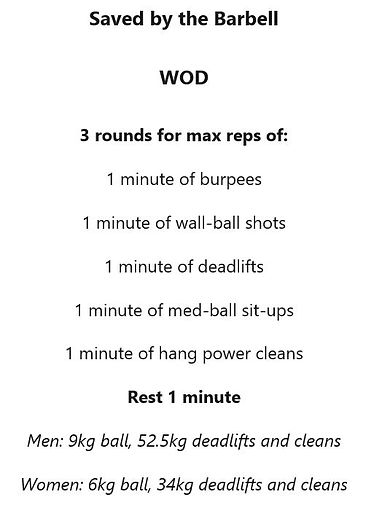 Saved By The Barbell WOD.JPG