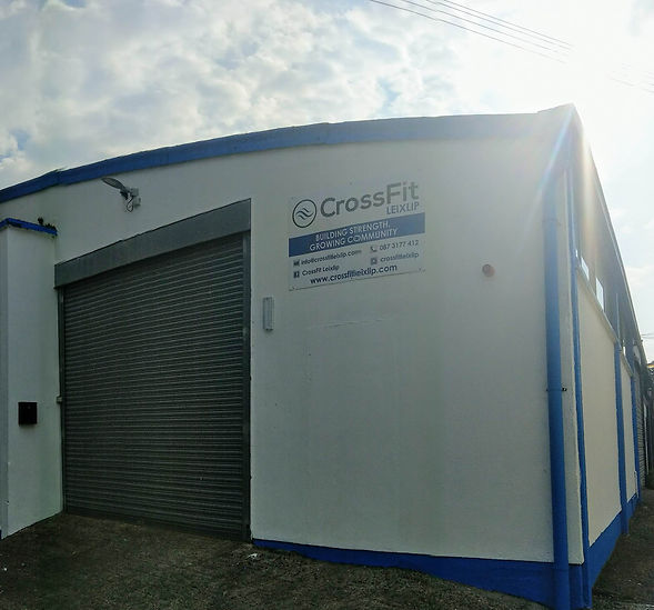 Picture of the outside of CrossFit Leixlip