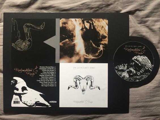 cd case album cover design mockup