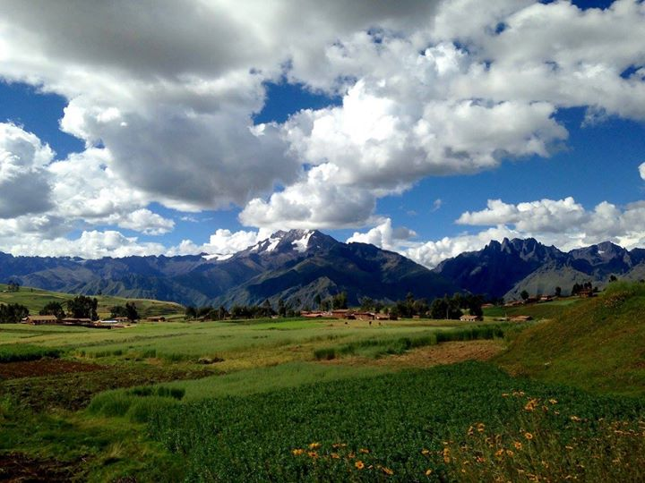amazing landscapes in teh sacred valley