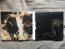 western themed cd case album cover design