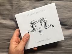 cd case album cover design skull