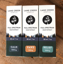 cbd tincture box packaging design