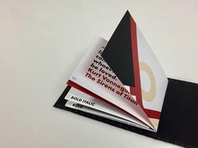 bauhaus style graphic desig booklet project
