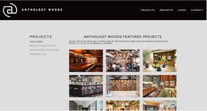 old reclaimed wood website design