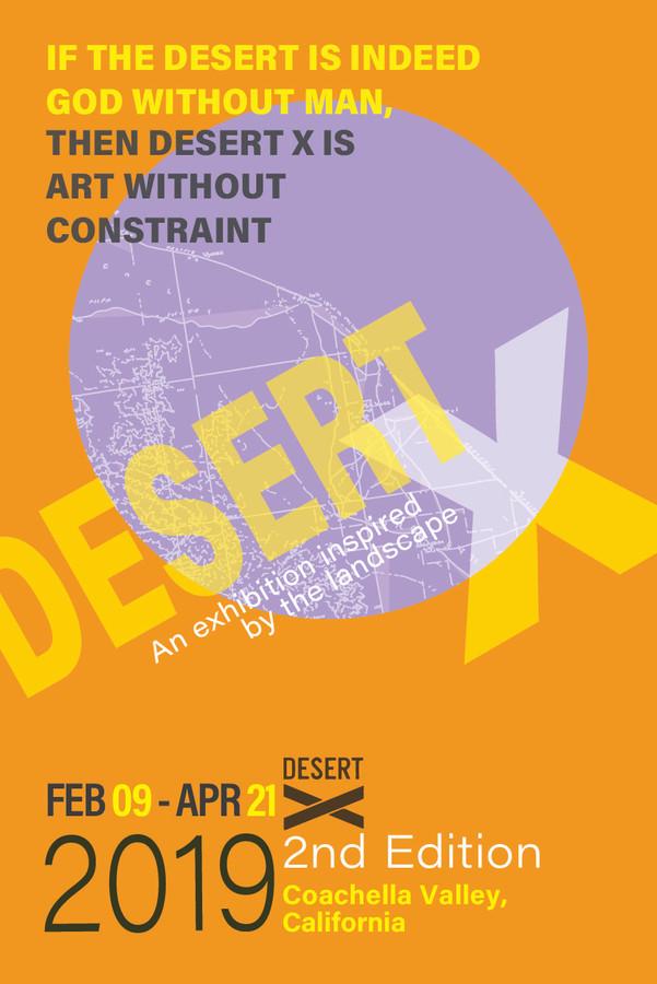 art fair festival edgy modern poster design
