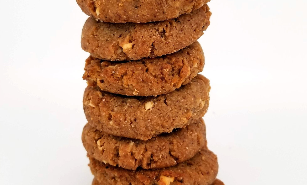 Spicy Peanut Ginger Cookie