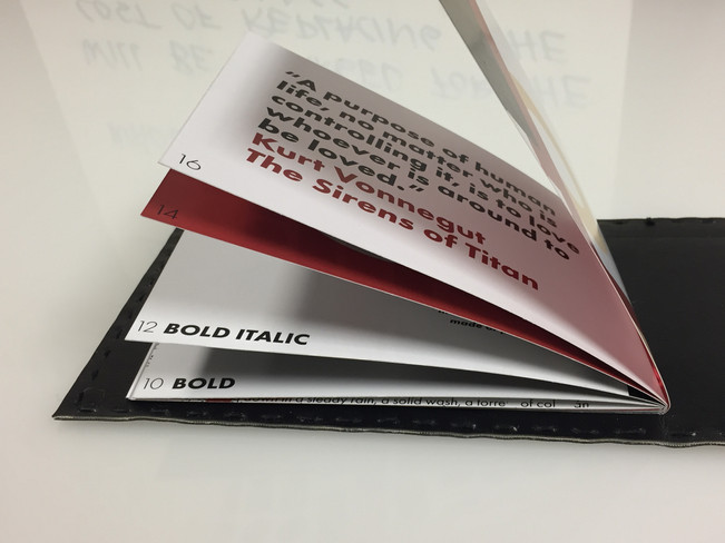prink booklet graphic design