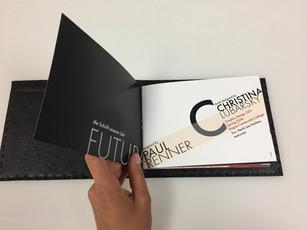 futura typeface design booklet