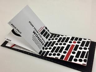 dystopian future typography design booklet