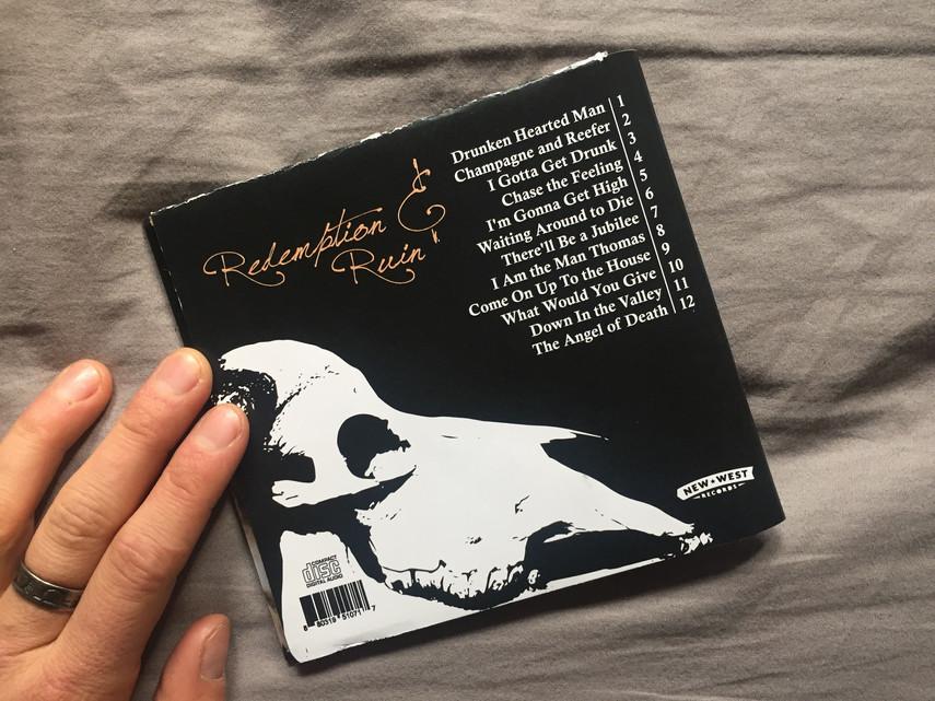 cd case back album cover design