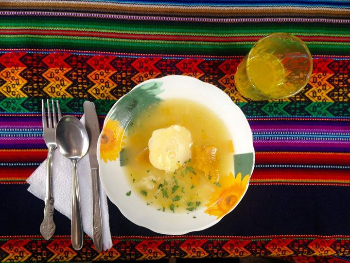 Salkantay Trek lunch