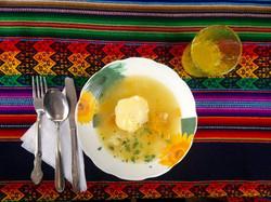Salkantay Trek lunch