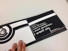 bauhaus futura graphic design booklet design
