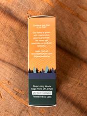 cbd tincture box packaging design