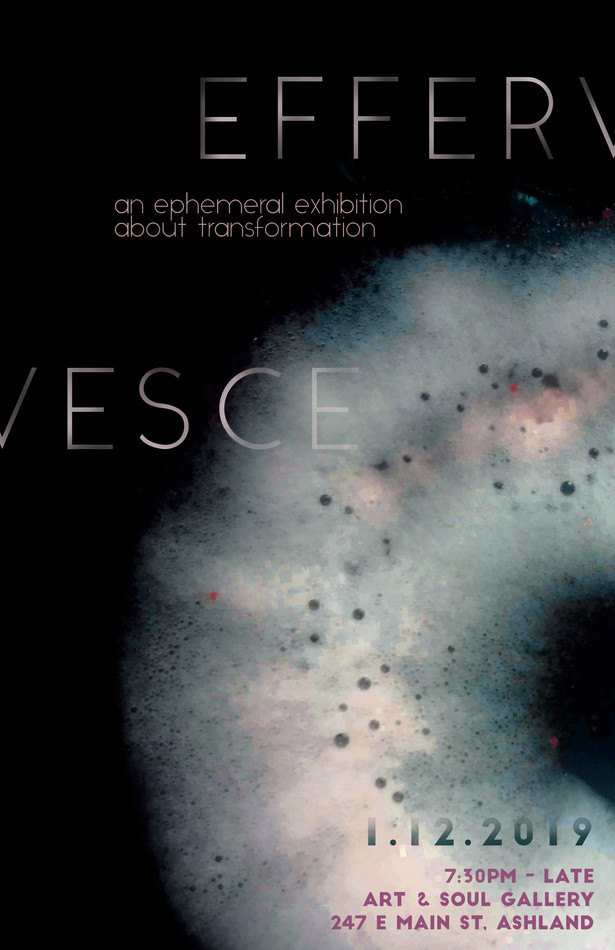Effervesce Poster art fair poster design