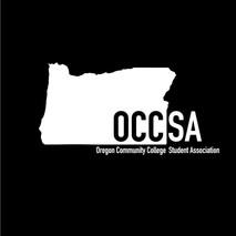 White OCCSA logo design Oregon