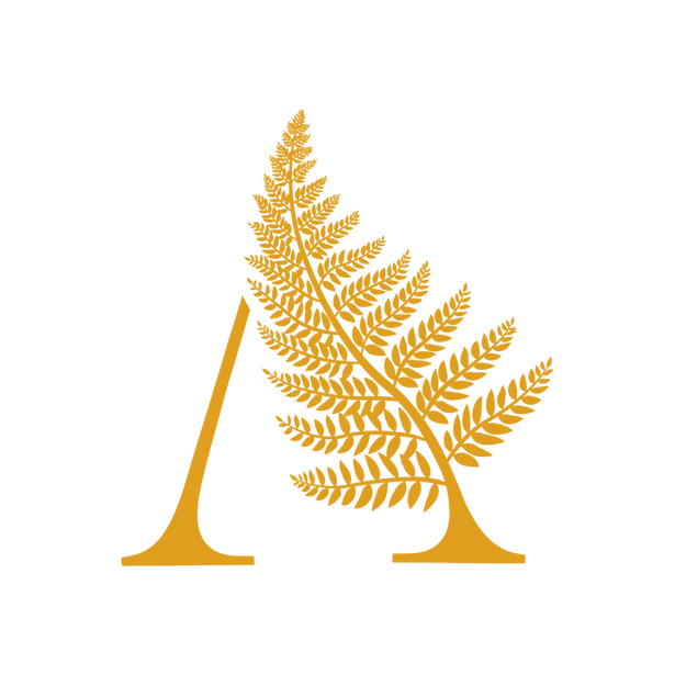 yellow fern logo design