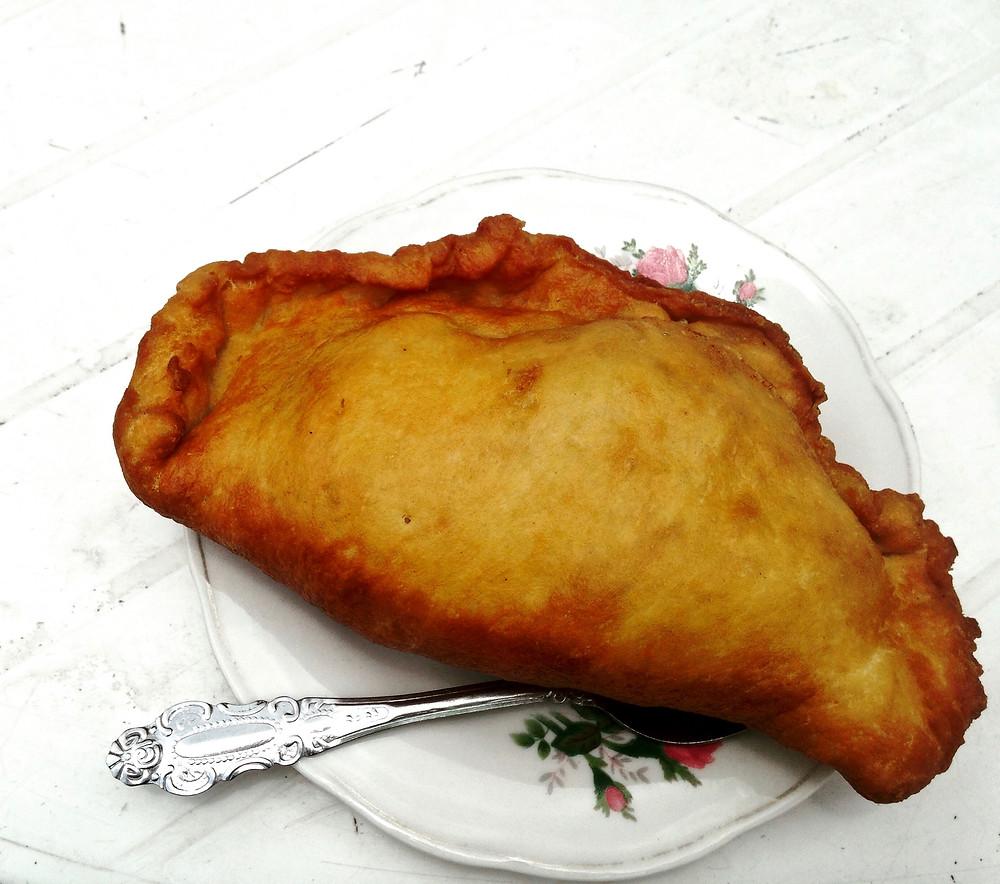 Best empanada ever outside of Banos, Ecuador