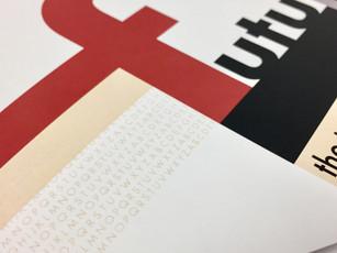 bauhaus futura design style booklet