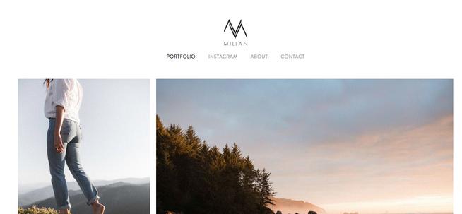 nic millan website with logo