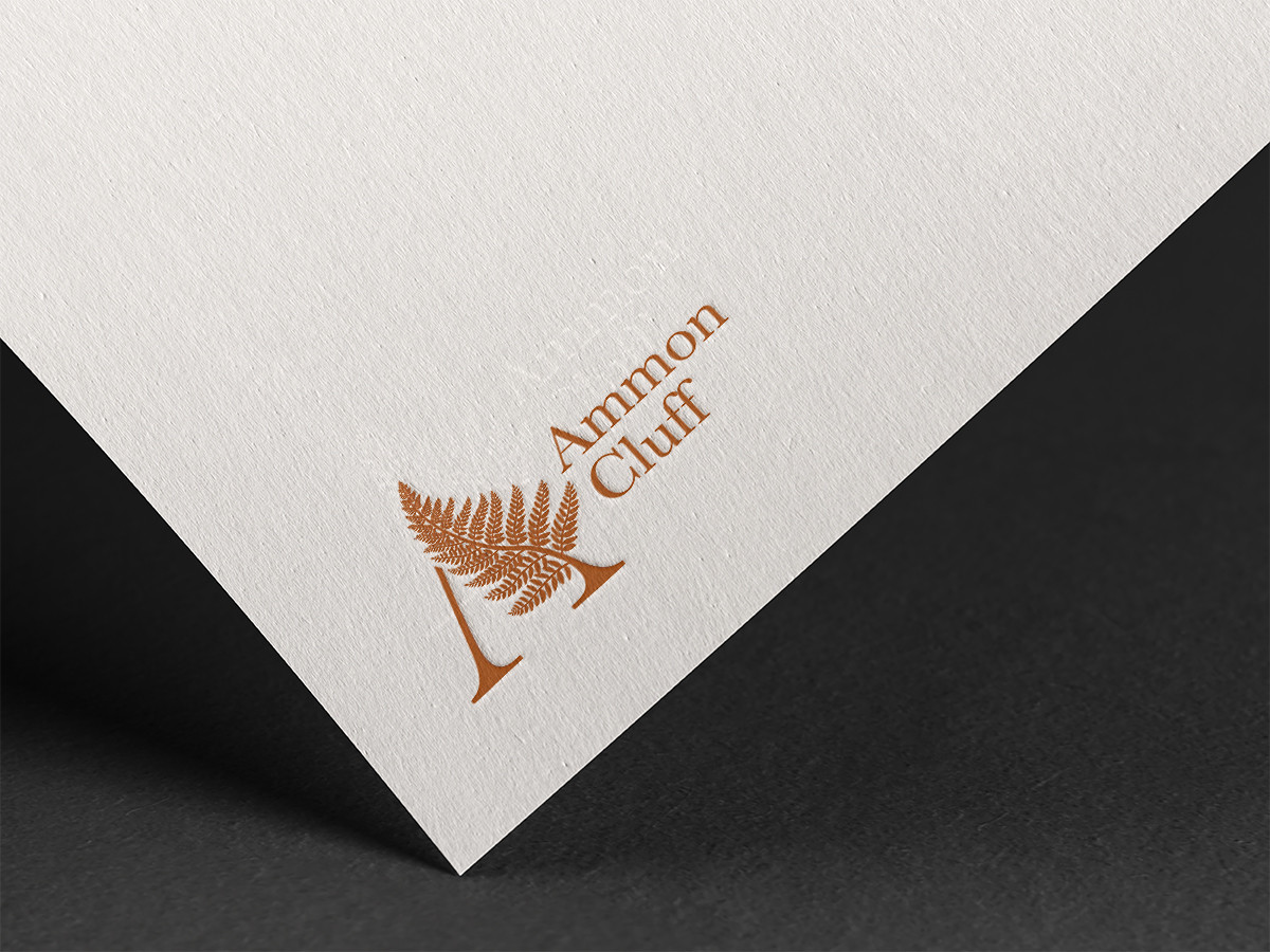 fern logo design mockup