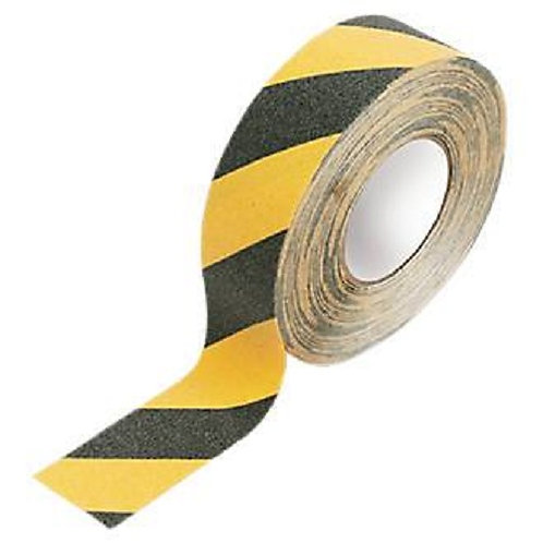 General Purpose Anti- Slip Tape, Black & Yellow