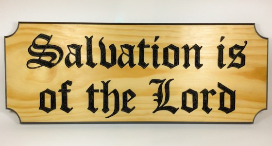 Meditation 4: Man's Salvation, by Richard Allestree.