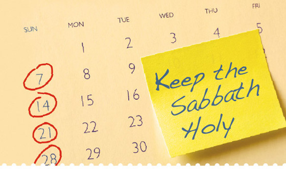 The Sabbath - Abbot deals with Gal 4:10,11.