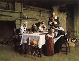 "The Puritan Family - ""As it were a little church"""